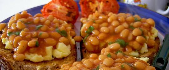 Морепродукты с запеченными овощами