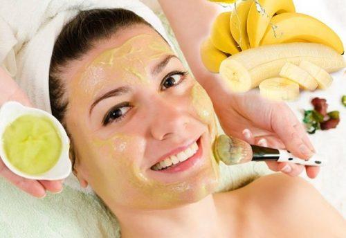 Банановая маска для кожи лица