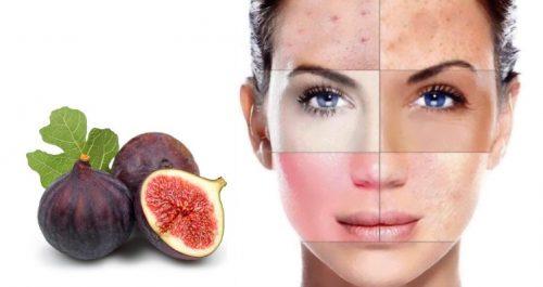 Инжир для кожи лица