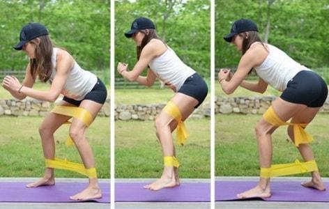 Упражнения с двумя жгутами