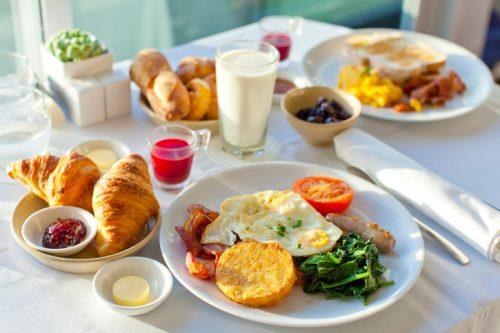 Похудение на сытных завтраках