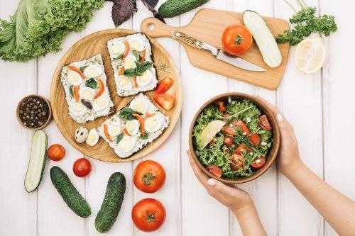 Низкокалорийные блюда на диете