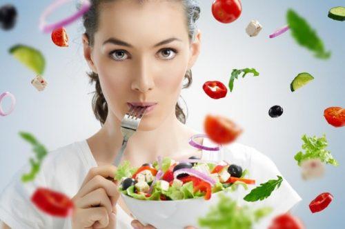 Овощной салат для хорошей фигуры