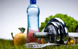 Минеральная вода, спорт и питание