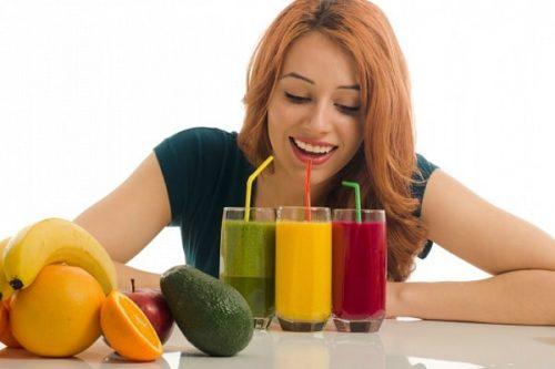 Похудение на соковой диете