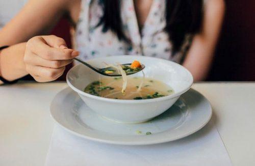 Употребление супа