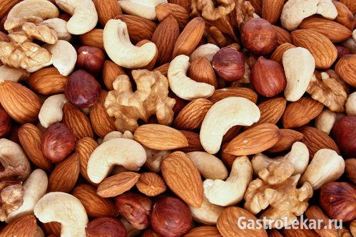 Можно ли орехи при язве желудка и 12-перстной кишки