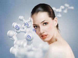 Насыщение кожи кислородом
