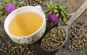 Чай с расторопшей