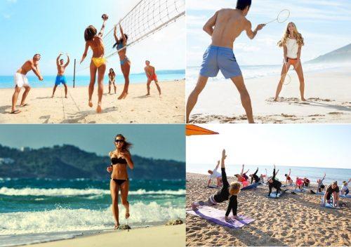 Пляжная активность