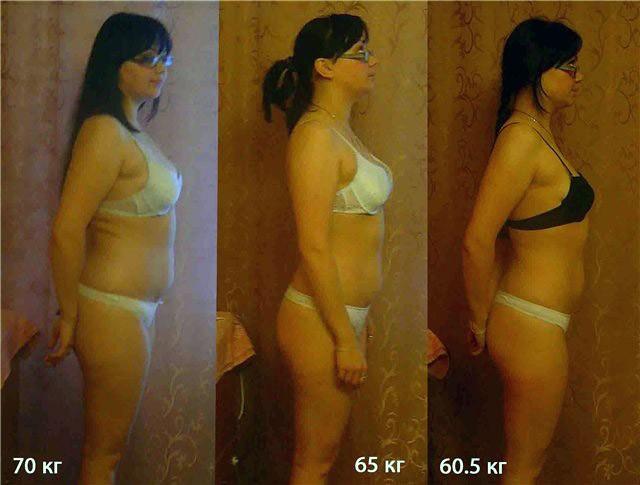 Похудение на 9,5 кг
