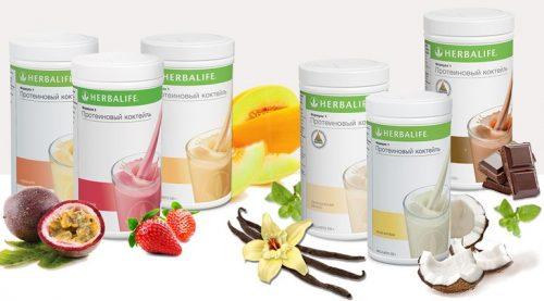herbalife протеиновые коктейли