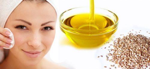 Польза кунжутного масла для лица
