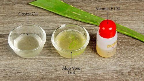 Кокосовое масло с алоэ и витамином Е