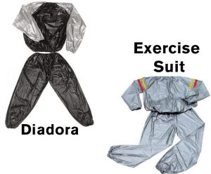 Diadora и Exercise Suit