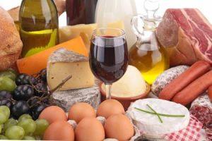 Белковая диета с вином
