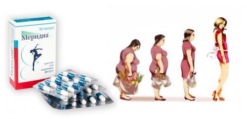 Меридиа для быстрого похудения