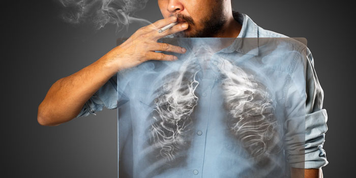 дым от сигарет в организме