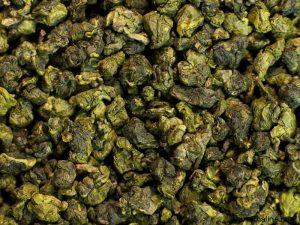 Листья чая улун