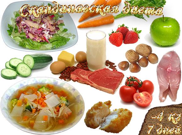 Продукты скандинавской диеты