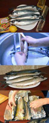 Подготовка рыбы к запеканию