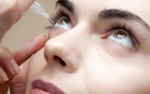 Закапывание глаз