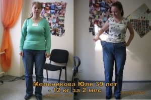 Похудение на 12 кг за 2 месяца