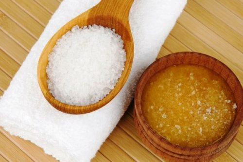 морская соль с медом