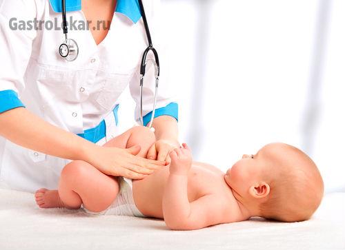Лечение гастроэнтерита у ребенка