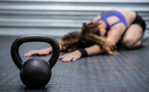 Разминка перед упражнениями с гирей