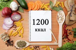 1200 ккал