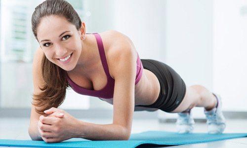 Выполнение статических упражнений