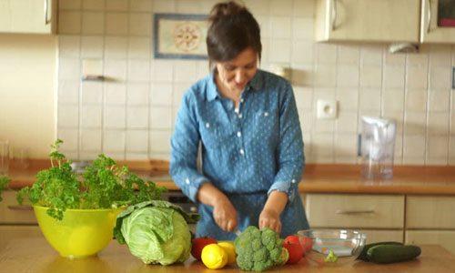 Приготовление супа из брокколи