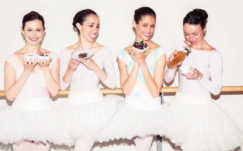 Как питаются балерины