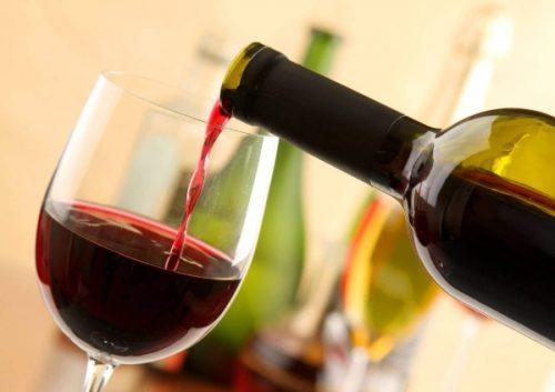 Вино на диете