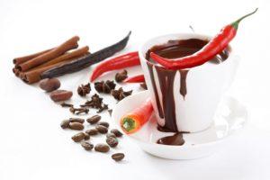 Сочетание шоколада и перца