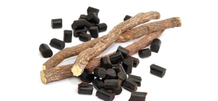 Внешний вид корня и лакричных конфет