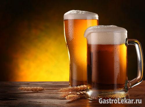 Разрешается ли пить пиво при гастрите