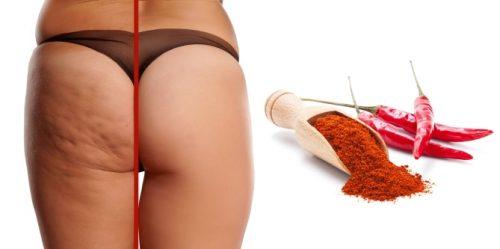 Польза красного перца при целлюлите и способы применения