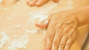 Солевой массаж