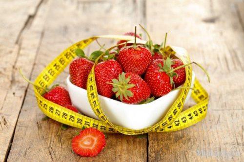 Клубничная-диета для похудения