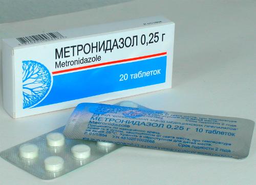 Лечение гастрита с помощью Метронидазола