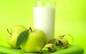 Кефирно-яблочная диета для снижения веса