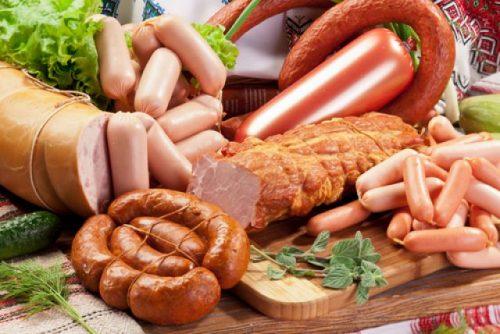 Колбасные изделия на диете