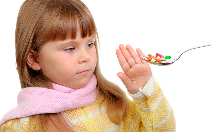 Ребенку нельзя таблетки
