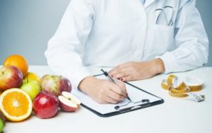 Обращение к диетологу