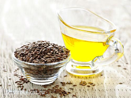 Льняное масло от гастрита