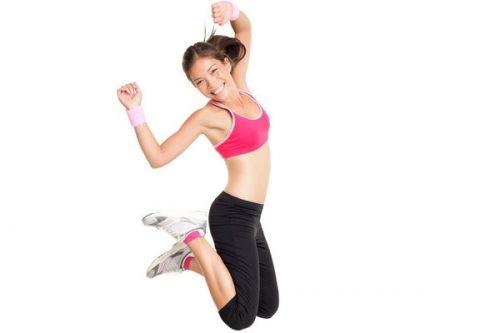 Похудение с помощью прыжков