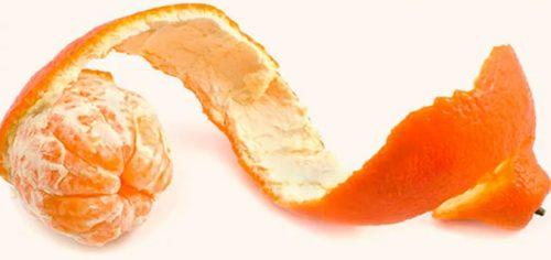 Цедра мандарина