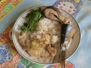 Рис с рыбой